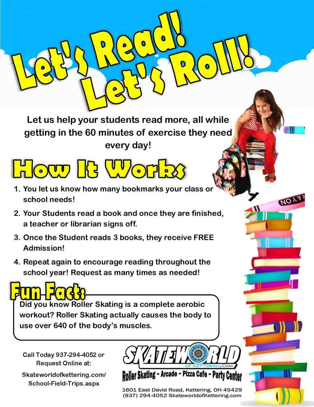 Lets Read Lets Roll Regular SWOK